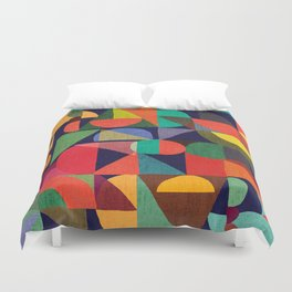 Color Blocks Duvet Cover