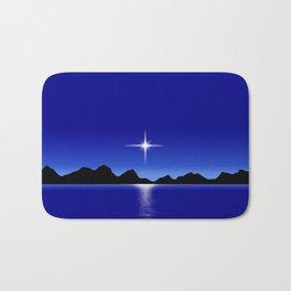 Star Horizon 107 Blue Sky Bath Mat