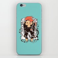 hiphop iPhone & iPod Skins featuring Rocket Monkeys by Steven Toang