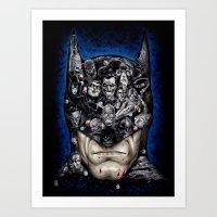 I Am Vengeance Art Print