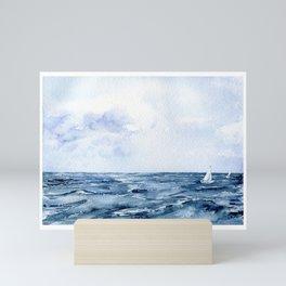 Seascape3 Mini Art Print