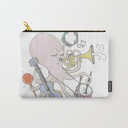 Music Octopi  Carry-All Pouch