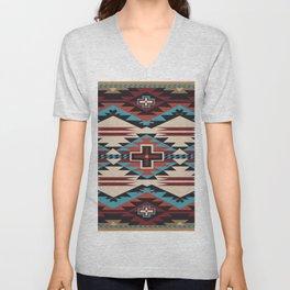 American Native Pattern No. 67 Unisex V-Neck