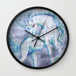 The Raining Queen Wall Clock