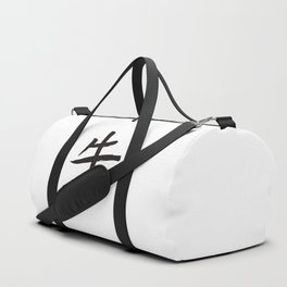 Chinese zodiac sign Ox Duffle Bag