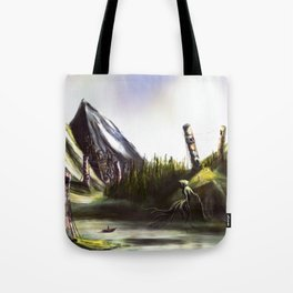 Good Morning, Wraith Tote Bag