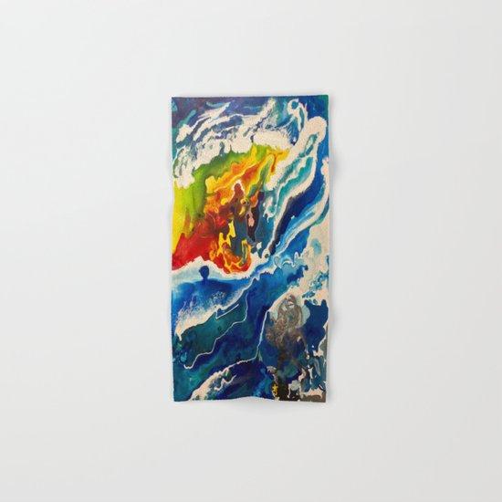 Deep Sea Rainbow Hand & Bath Towel