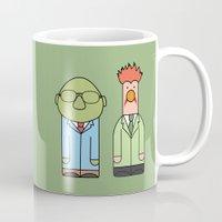muppets Mugs featuring Bunsen & Beaker – The Muppets by Big Purple Glasses