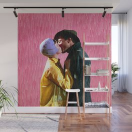Singin' in the Rain - Pink Wall Mural