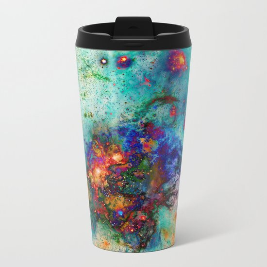 Everything is nothing 9 (therefore it was beautiful) Metal Travel Mug
