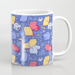 A Lot of Cats / Out at night Coffee Mug