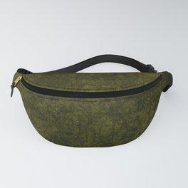 olive green velvet   texture Fanny Pack