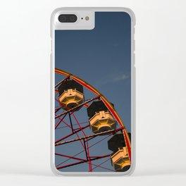 Big ferris wheel Clear iPhone Case