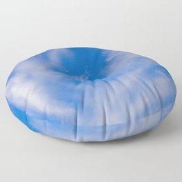Sky Blue Floor Pillow