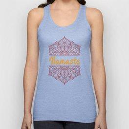 Namaste   Lotus Flower Yoga Yoga Jogi Meditation Unisex Tank Top