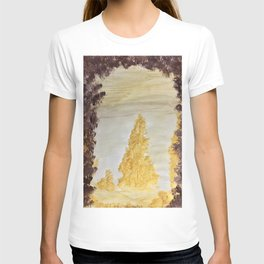 Golden secluded forest T-shirt