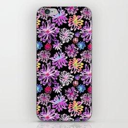 Painted Floral II iPhone Skin