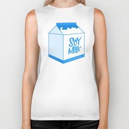 soy milk Biker Tank