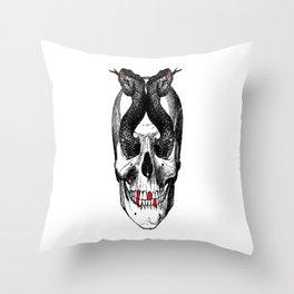 """""""Snakes eyes"""". Throw Pillow"""