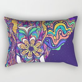 Not a circus elephant Rectangular Pillow