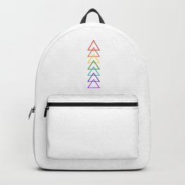 Rock the Chakras- no text Backpack
