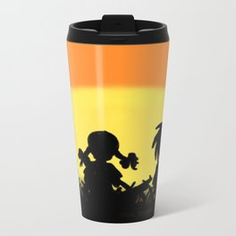 Just Another Day On Planet Earth Metal Travel Mug