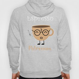 Espresso Patronum Funny T-Shirt Cute Coffee Tee Shirt Wizard Hoody