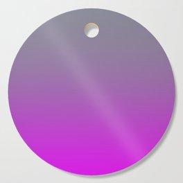 GET LOST - Minimal Plain Soft Mood Color Blend Prints Cutting Board