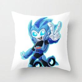 Blurr Throw Pillow