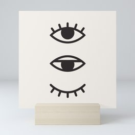 Eye Chart Mini Art Print