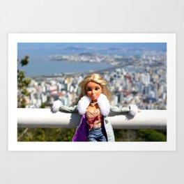 Cidade de Florianópolis - Brazil Art Print