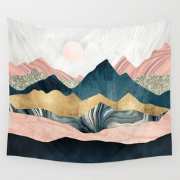 Plush Peaks Wall Tapestry