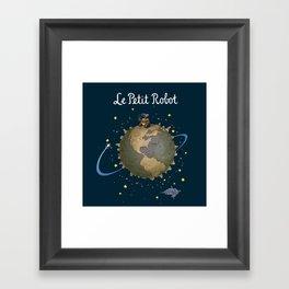 Le Petit Robot Framed Art Print