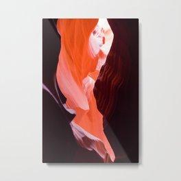 Natural Abstract from Antelope Slot Canyon in Arizona Metal Print