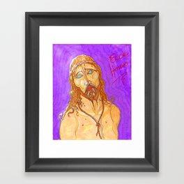 Ecce Homo ! Framed Art Print