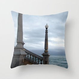 "untitled (Sitges) ""A SAFE PLACE"" series Throw Pillow"