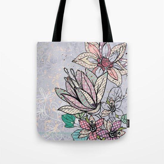 Paper Flowers #3 Tote Bag