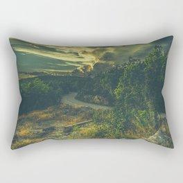 Road to oblivion Rectangular Pillow