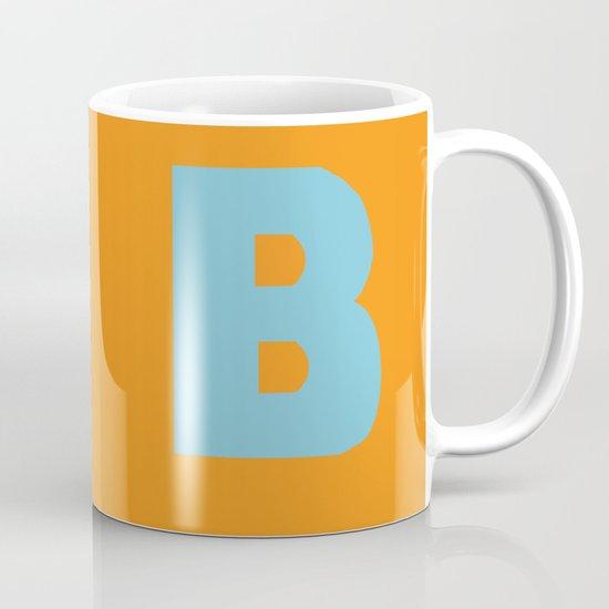 Blue B Mug