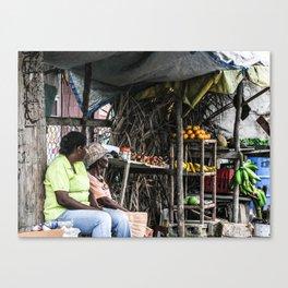 Pon de Road Canvas Print