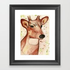 Master Deer Framed Art Print