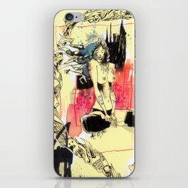 Queen Destructo iPhone Skin