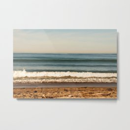 Beach photograph. Layer Cake Metal Print