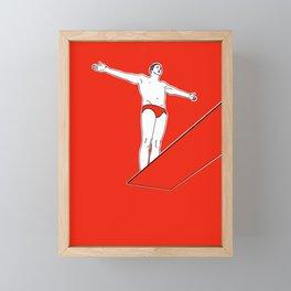 Dive Right In Framed Mini Art Print