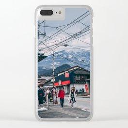 Winter in Nikko Clear iPhone Case