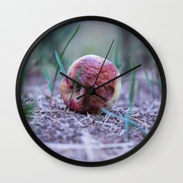 The wicked queen bad apple Wall Clock