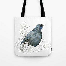 Kōkako, New Zealand native bird Tote Bag