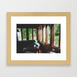Cottage Lovers Framed Art Print