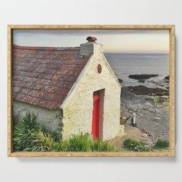 Irish cottage, Ireland Serving Tray
