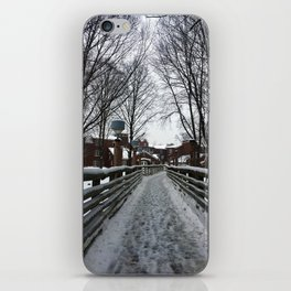 Quinnipiac University in Winter iPhone Skin